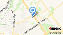 Дом хлеба на карте