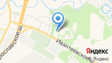Центр профессиональной подготовки сотрудников ГИБДД на карте