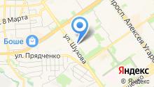 Белстар-2 на карте