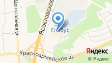 Пушкино парк на карте
