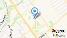 Магазин сладостей на карте