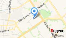 АвтоЛига на карте