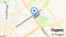 МЕДТЕСТ на карте