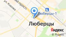 Люберецка городская организация профсоюза работников здравоохранения на карте