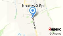 Администрация муниципального образования пос. Красный Яр на карте