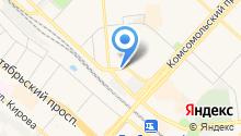 Магазин горячей выпечки на карте