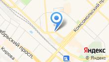 Автомойка на ул. Митрофанова на карте