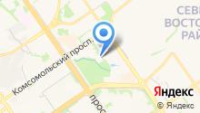 Герион на карте