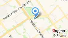 Оскол-Газон на карте
