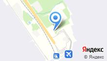 Аэротель на карте