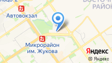 Контраст на карте