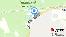 АЗС БТК на карте