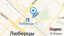 Секонд-хенд на Инициативной на карте