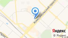 Гаражно-строительный кооператив №42 на карте