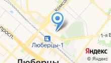 Люберецкий на карте