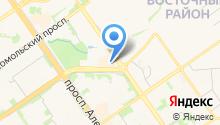 Интернет магазин «МАТРАС – КРОВАТЬ» в Старом Осколе - матрасы ортопедические на карте