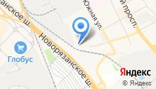Люберецкое врачебно-физкультурное диспансерное отделение на карте