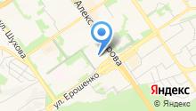 Детский сад №40, Золотая Рыбка на карте