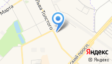 Магазин хозяйственных товаров и инструмента на карте