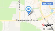 Детский сад №13, Улыбка на карте