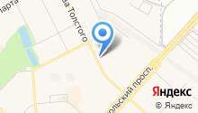 Магазин электроустановочной продукции на карте