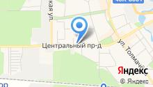 Администрация городского округа Ивантеевка на карте