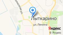 Детский сад №12, Яблонька на карте