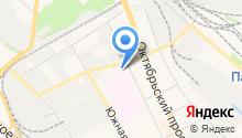 Люберецкий родильный дом на карте