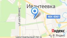 Пульс Ивантеевки на карте