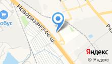 Тойота Центр Люберцы на карте