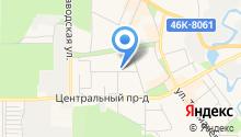 Подмосковье, ТСЖ на карте