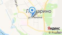 Продуктовый магазин на Коммунистической на карте