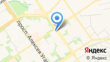 Аудит, ЗАО на карте
