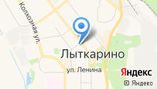Грузоперевозки в г. Лыткарино - Услуги КРАНА-МАНИПУЛЯТОРА на карте