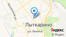Сотел-М на карте
