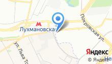 АЗС НеоТек на карте