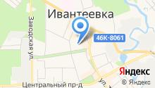 Нотариус Муравьева Л.Ю. на карте