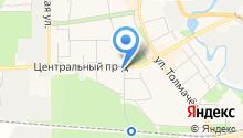 Ива на карте