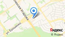 Кокетка на карте