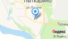 Президентский на карте