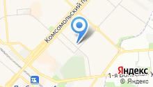Семейная клиника на Красной горке на карте