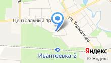 Судебный участок мирового судьи Ивантеевского судебного района Московской области на карте