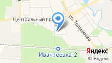 Главное управление Пенсионного фонда РФ №16 г. Москвы и Московской области на карте