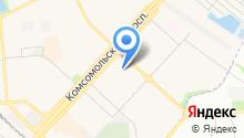 Почтовое отделение №140074 на карте