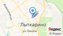 Юр Ин на карте