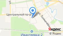 Центр подготовки к ЕГЭ на карте
