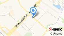 Компания бытовых услуг на карте