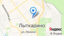 Совет депутатов г. Лыткарино на карте