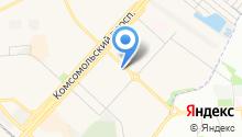 Магазин электротоваров и багета на карте