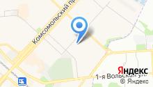 Адвокат Якушева О.В. на карте